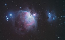 浪漫宇宙星空背景