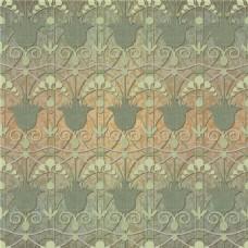 灰绿色印花图案矢量素材