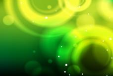 绿色的背景虚化矢量素材