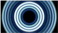 层叠圆环动态视频素材
