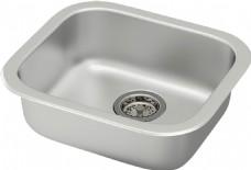 不锈钢的洗涤槽免抠png透明素材