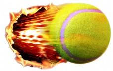 创意网球图免抠png透明素材