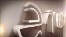 3d标志的轮廓生长动画与填充动画演绎特效ae工程