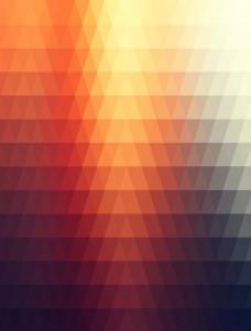红色渐变多边形背景素材