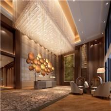 酒店地毯过道效果图