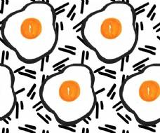 服装设计几何鸡蛋面料图
