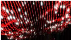 光红纤细动态视频素材