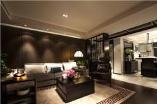 中式室内客厅装修效果图