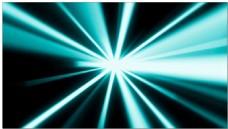 青色光芒动态视频素材