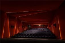 现代大众影院观众席装修实景图
