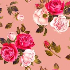 芬芳花卉卡通矢量素材