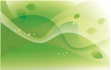 绿色叶子矢量素材