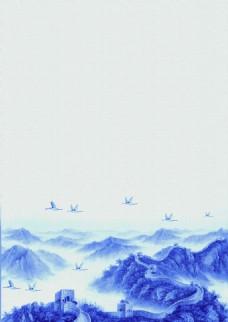 古典中国风山河背景素材