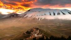hdri火山外景贴图