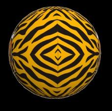 动物皮纹球 气模 气球 充气模