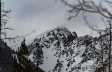 壮丽的雪山美景