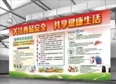 原创设计食品安全宣传海报设计