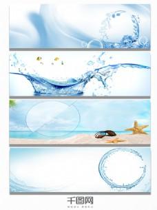 梦幻海洋背景banner图片