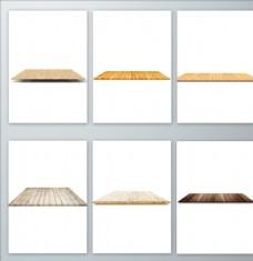 真实的木板免抠素材