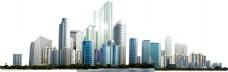 手绘城市建筑元素