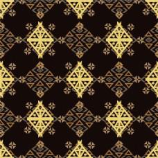 金色三角形背景图片