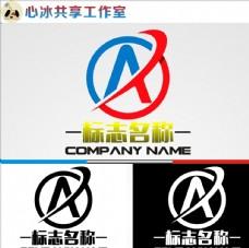 A字母logo
