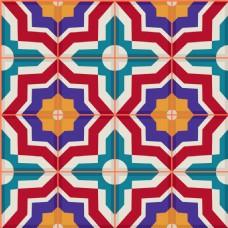 彩色方格背景图片