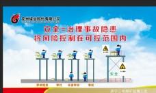 安全 生产 展板 煤矿教育警示