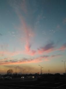 龙形火烧云