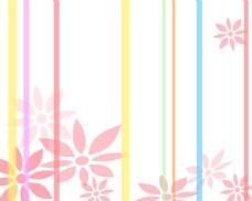 多彩线条背景图