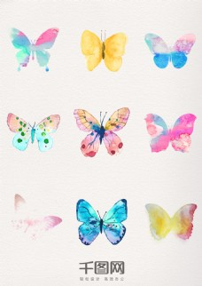 唯美水墨中国风蝴蝶