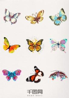 水墨中国风唯美蝴蝶