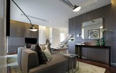 沙发客厅现代效果图