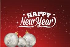 圣诞节 新年 背景 矢量 雪花