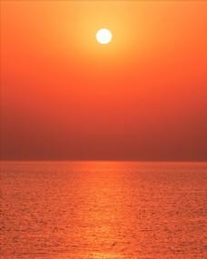 高清夕阳黄昏图