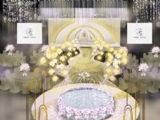 欧式婚礼效果图