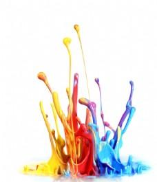 飞溅的颜料