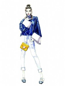 女装轻装简约服装设计
