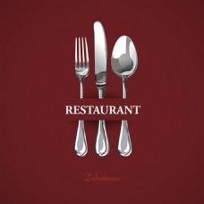 质感餐具图标元素