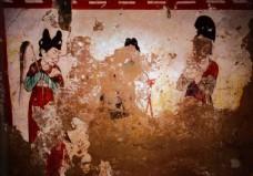 韦贵妃陵墓壁画