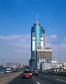 建筑摄影图片  上海城市素材