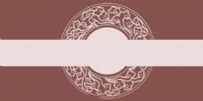 中式稳重浅褐色底纹广告背景