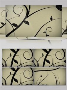 水墨中国画高清视频素材