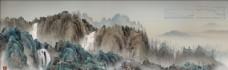 杨泳梁手绘画  中国风水墨画