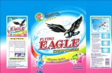 EAGLE洗衣粉包装