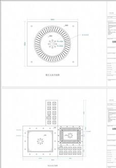 私人住宅天花平面图