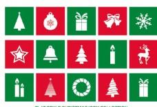 圣诞元素图标