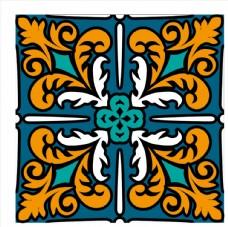 民族风装饰花纹