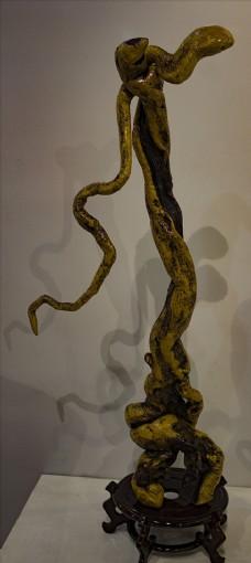 根雕——蛇