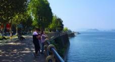 千岛湖湖边
